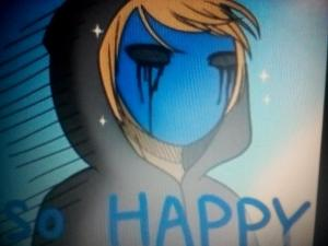 Eyeless jack! EJ: ...what is your favorite food? (I don't have a lot of photos of him -_-)