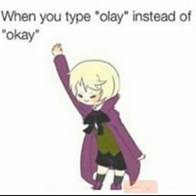 Alois: *dances around and claps* Me: He want's you to finish the sentence....