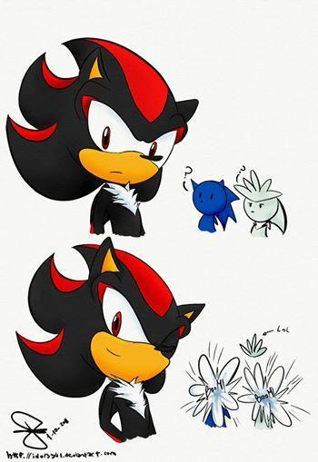 Me : Did you read the description of your last results? // Sonic : Of course she did! She had me! // Shadow : Not necessarily