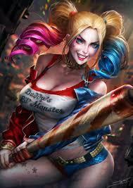 What colour is harley's normal hair?