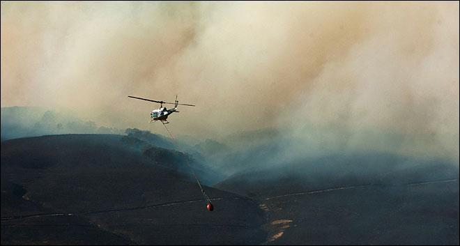 Evacuations have been lifted for homes in the Rowena wildfire area. How many homes?