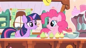 You, Pinkie and Twilight Finish with the Cupcakes.  Pinkie : That was sure fun! Did you like it?