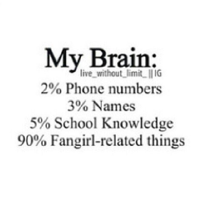 Are you a fangirl?  This doesn't affect your score. I'm just curious.