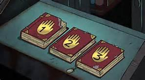 Out of the three journals, which one did Gideon posses?