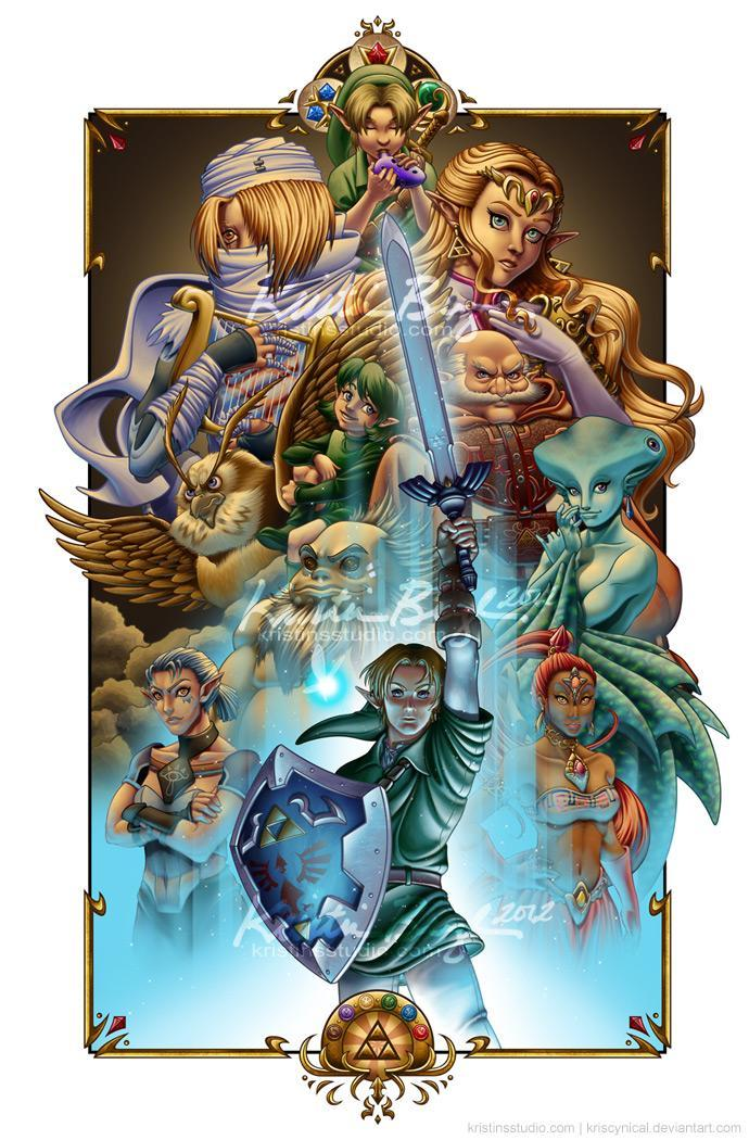 Let's say that you can choose to be any race from the Zelda series; Which would you choose?