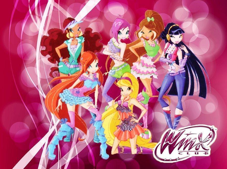 What are the names of the 6 main Winx?