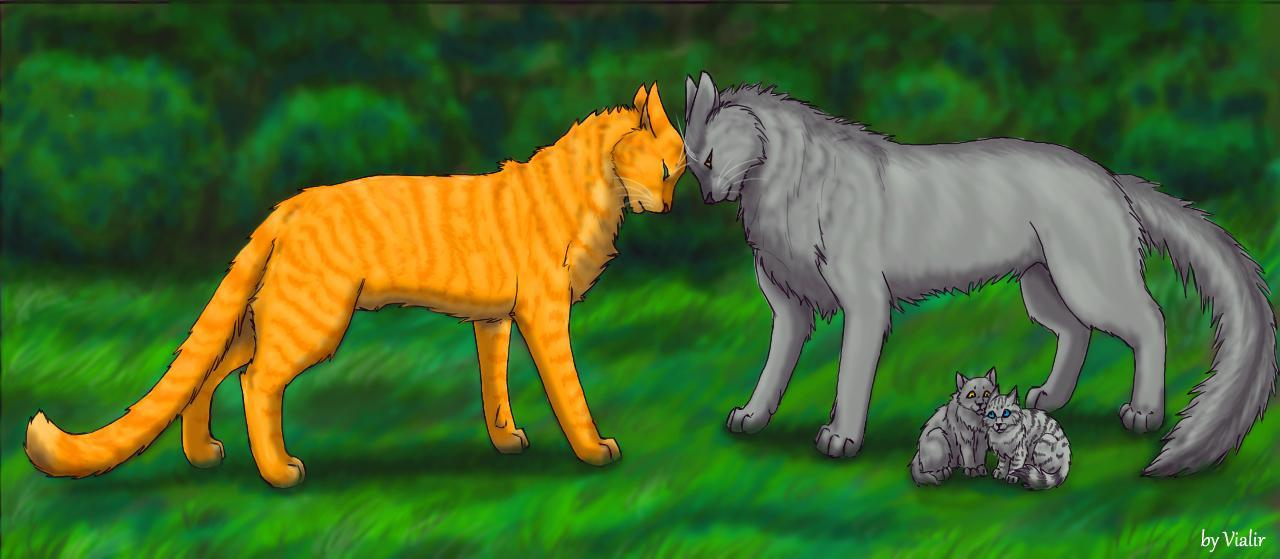 In what Clan did Greystripe go after he leaved ThunderClan?