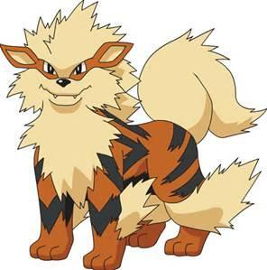 Is the Arcanine cool or what?