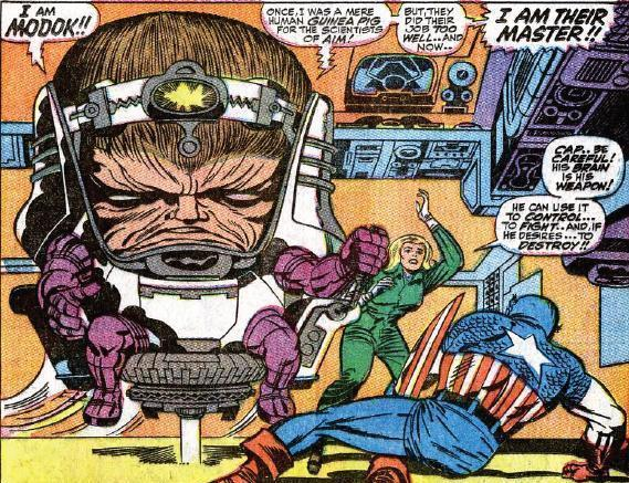 Why is this villain named Modok?