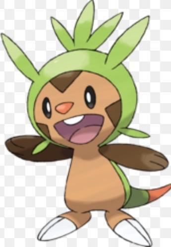 Chespin: do you want friends?