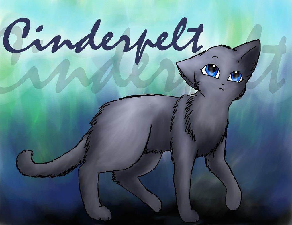 Why did Cinderpelt never become a warrior?