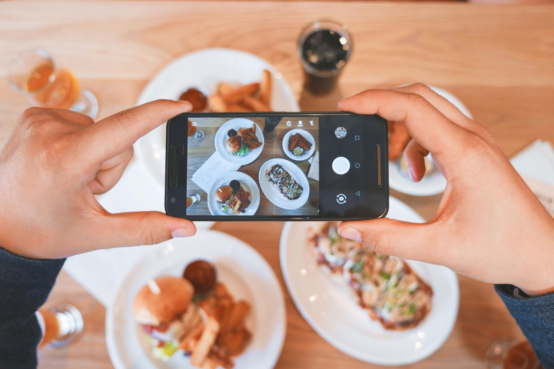How often do you take a picture of your meal and share it on social media?