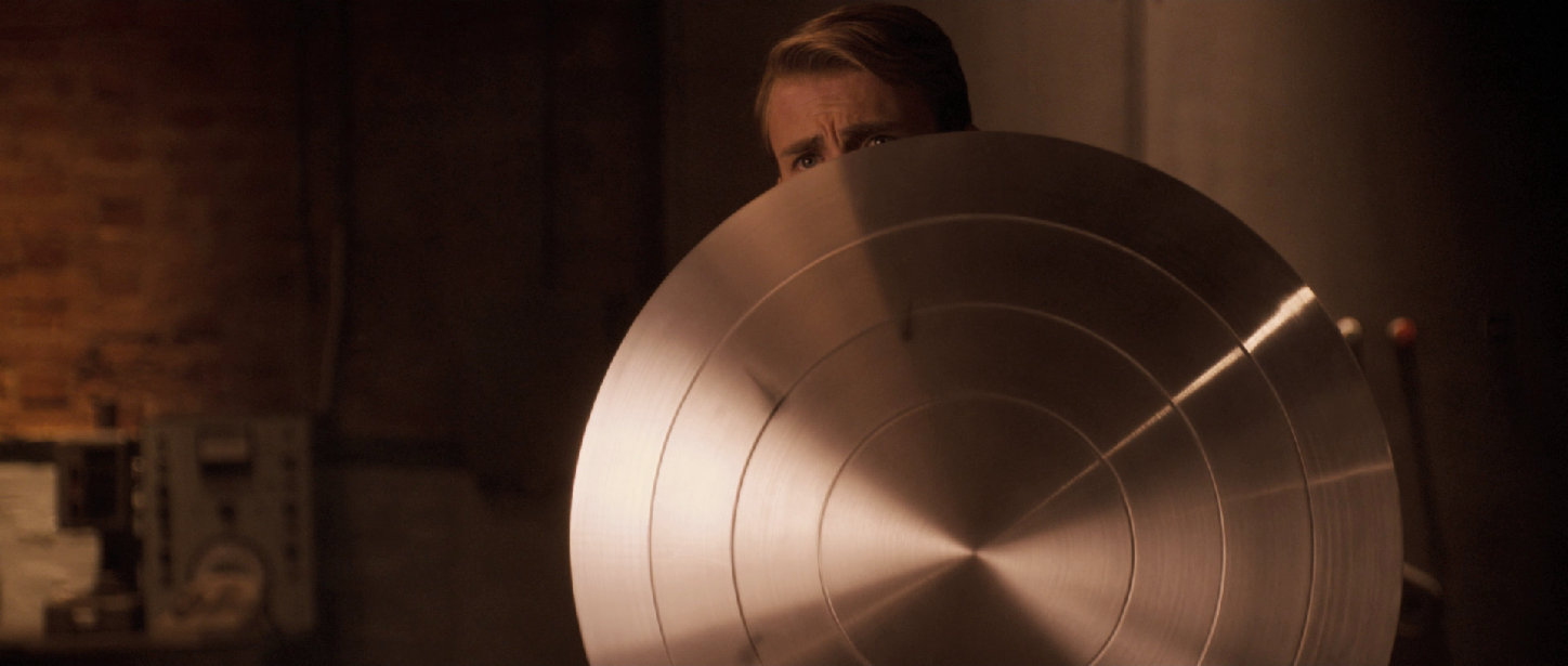 What is Captain America's Shield made out of?