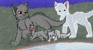 Who did Graystripe love from another clan?
