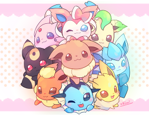 Which of the five  eeveelutions I put do you most like?