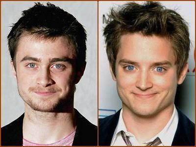 Who plays Harry Potter, guy #1 (left) or guy #2 (right)?