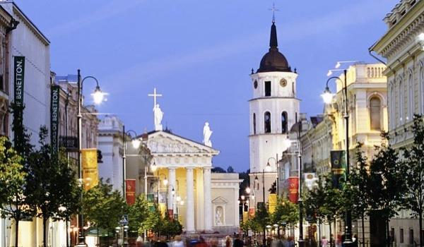 What is the capital of Lithuania?