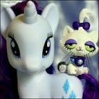 who is rarity`s pet named?