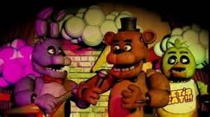 Which 3 Animatronics play on a Show Stage?