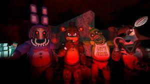 At the sfm Return. What old animatronic want battle Puppet?