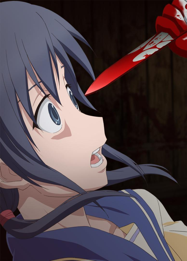 In the vision Ayumi sees through [previous answer]'s eyes, the true murderer of the school is discovered, but who is it?