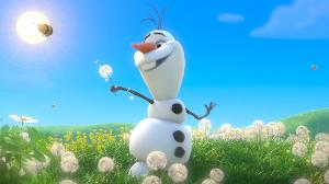 Who voices Olaf?