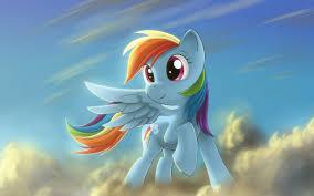 What is Rainbow Dash's cutiemark resemble?