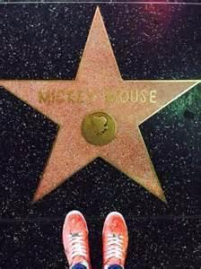 Mickey has his own Hollywood star. Was there any other animated character(s) to get one before him?