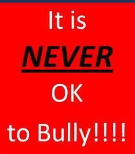 Will speak out to bullying and stop others from being bullied?