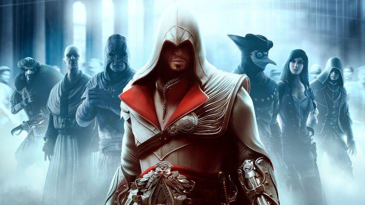 Which of these are multiplayer characters from Assassin's Creed Brotherhood and also Ezio's targets?