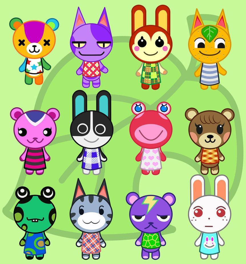 How many animals (Not including shop owners, just people who can move in) are in the game Animal Crossing?