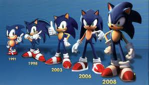 Last Question.what year did sonic turn into an adult