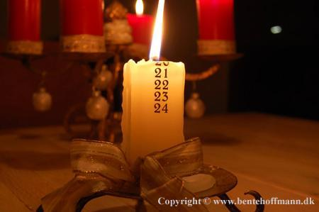Frequently, who's duty would it be to blow out the candle before it burns too many dates?