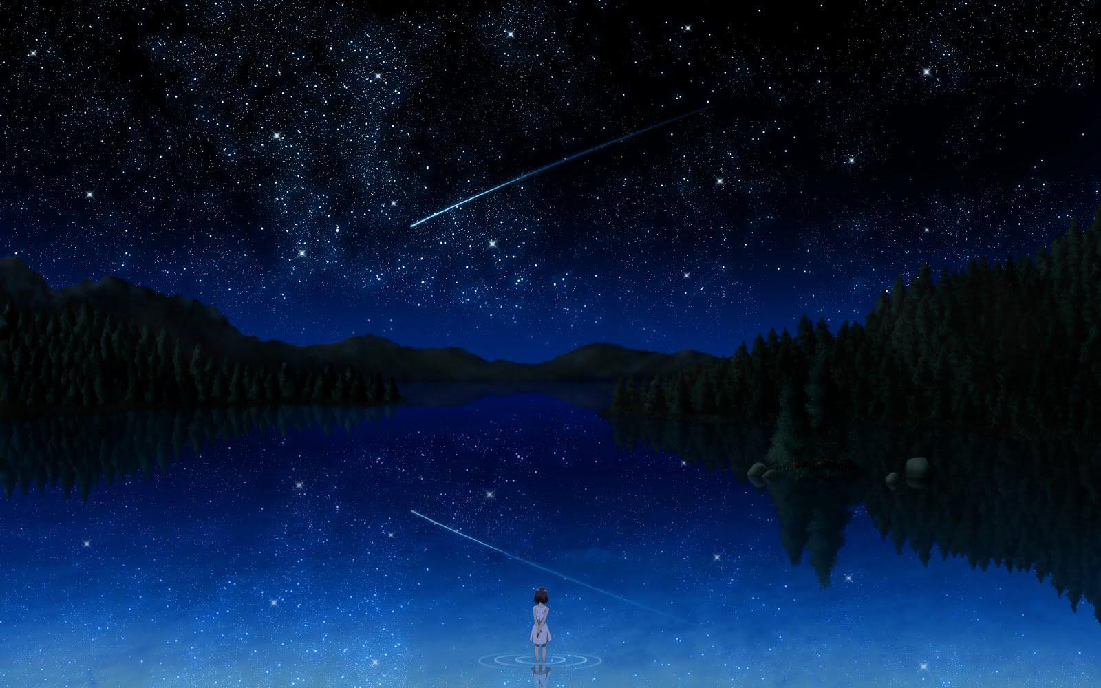 You look up at the starry night sky and see a shooting star. You make a wish. What did you wish for?