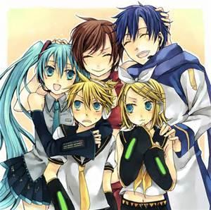 If you had to pick a best friend/sibling from Vocaloid who'd it be?