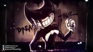 So first question, did you play the game of bendy and the ink machine?