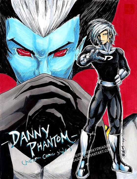 At the ending of Danny Phantom who was the real villain?