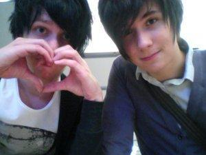 My favorite shipping XD ( Also Phan isn't an option so this picture means nothing XD )
