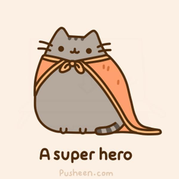 You are now a super hero!