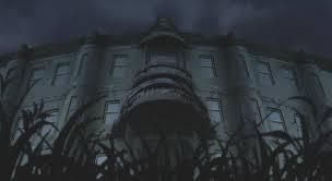 You all say the chant, but all of a sudden, you guys are teleported to a different place. You all stand up. You see a huge broken building, with corpse near it. What do you say?