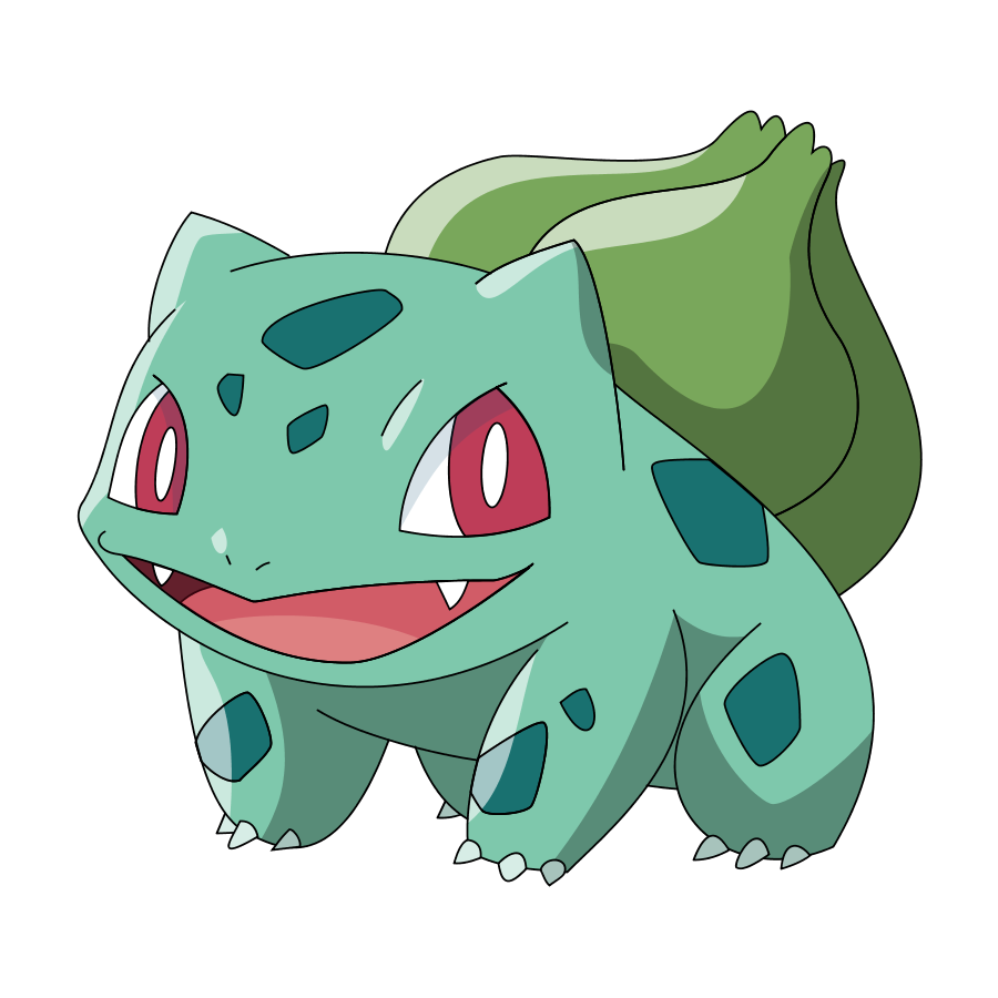 I haven't used a grass Pokemon yet so here it is. Pretty easy, too.