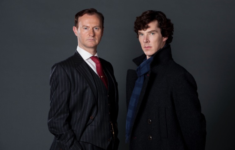 In what episode did you find out Sherlock and Mycroft were brothers?