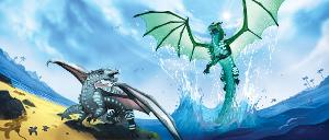 How many animus dragons are mentioned in the second five books?