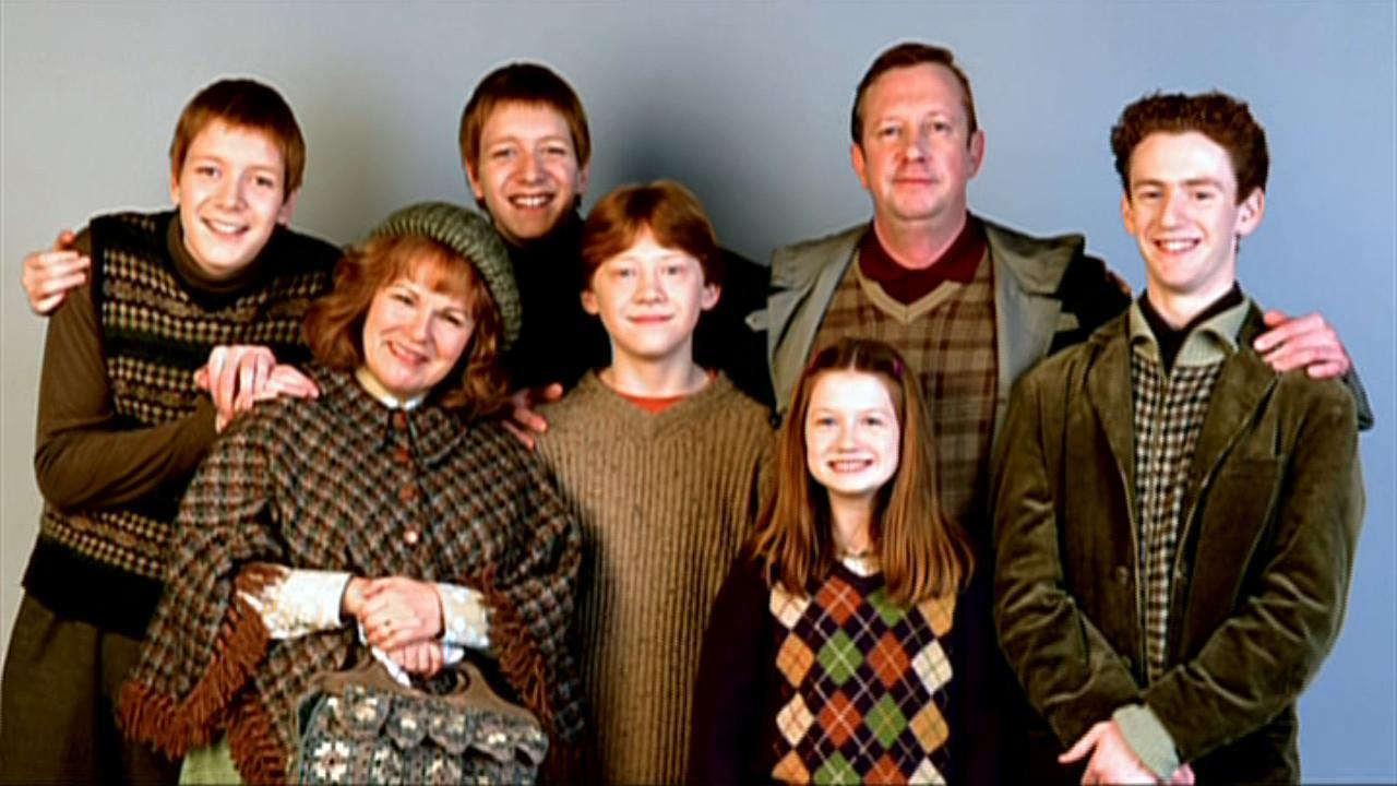 Which of the Weasley's childern worked at the Ministry?