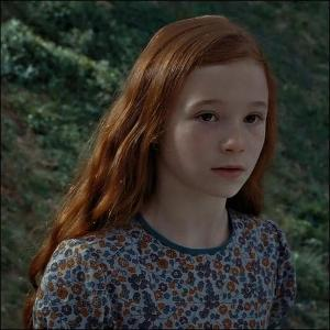 Lily Evans is James Potter's crush