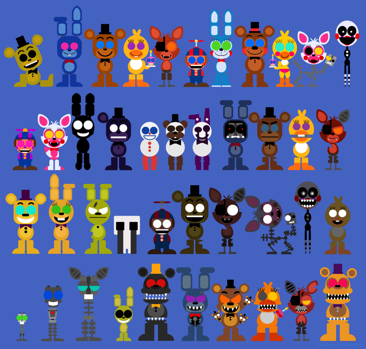 OK now I can ask my question. What you favorite fnaf game!