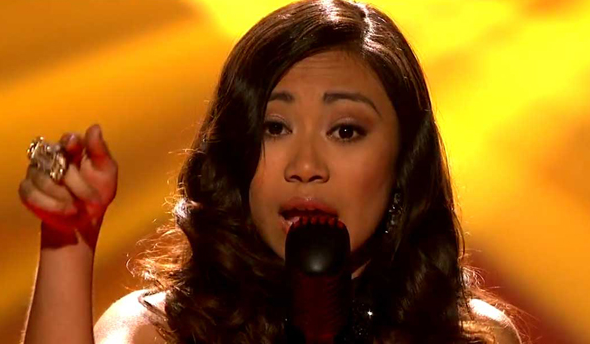 Jessica Sanchez has just stormed the stage with her flawlessness. How do you conduct your critique?