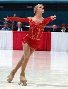 Tanja Romano, the most successful figure roller-skater of all time belongs to which minority?