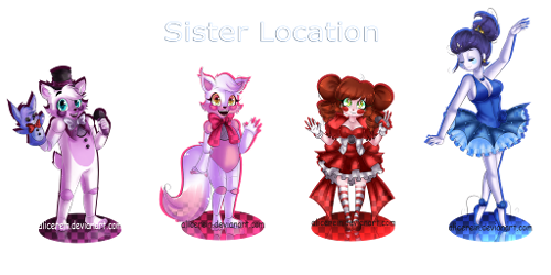 What Sister Location character do you like the most?