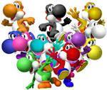 On yoshi's island DS how many yoshis are there